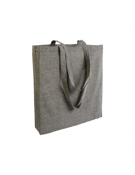 SHOPPING BAG IN RECYCLED COTTON